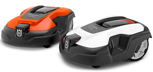 Automower 310 und 315 weiß und orange