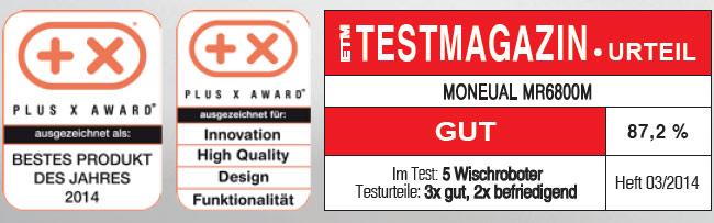 Testurteil Moneual ME685