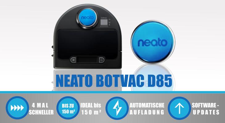 Neato Robotics Botvac D85 schwarz