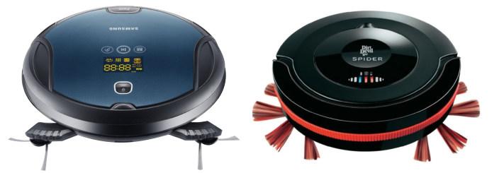 Staubsaugerroboter zwei Modelle