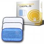 Microfasertücher (3 Stück) für iRobot Braava 320 / 380 / 390t