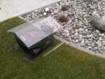 Große Haube - Rasenmähroboter 7