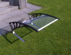 Plexiglas Dach transparent - Rasenmähroboter