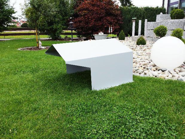 Produktbild Aluminium Haube groß - Rasenmähroboter