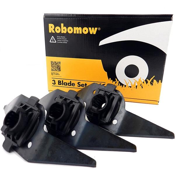 Robomow Messer Set (RM, RL, City, Tuscania) Titel