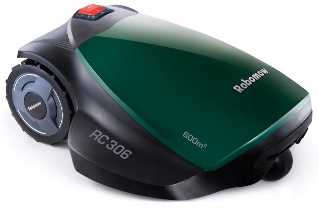 Robomow RC306 von der Seite