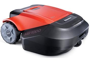 Robomow MS1000 von seitlich oben