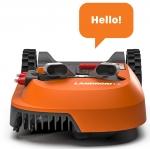 Landroid M1000 Rasenmähroboter mit App, Kantenmodus & intelligenten Rasenflächen-Erkennung