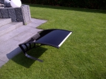 Dach schwarz - Rasenmähroboter