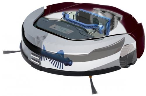 deebot d79 saugroboter mit absaugstation inkl 14 tage testzeitraum ebay. Black Bedroom Furniture Sets. Home Design Ideas