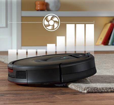 Roomba 980 saugt stärker auf Teppichen