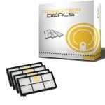 Filter (3 Stck.) für iRobot Roomba 8er Serie