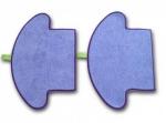 Mikrofaserpad Moneual 2 Stück