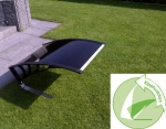Dach Kippfunktion schwarz - Rasenmähroboter