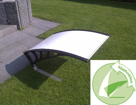 Dach Kippfunktion weiß - Rasenmähroboter