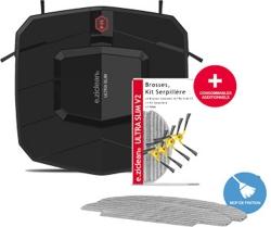 DER FLACHSTE: Ultra Slim V2 (Black Edition) Saugroboter mit Wischfunktion sehr flach