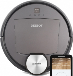 ABVERKAUF: Deebot R98 Wisch- Saugroboter mit App, Absaugstation u. Handsauger