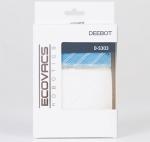 Mikrofaserpad D-S163 für Deebot D66, D68, D80, D83 (3 Stück)