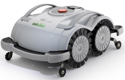 OHNE DRAHT: Blitz 2.0 (BX2) drahtloser Mähroboter mit Rasenerkennung