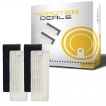 Feinstaub-Filter (2 Stück) für ILFE / ZACO A4, A6