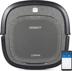 PREIS-AKTION: Deebot Slim 2 Black Edition Saug- Wischroboter inkl. 14 Tage Testzeitraum