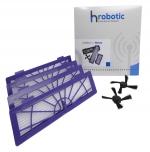 Original HRobotic LifeSet (Zubehör Set für Neato Botvac) Seitenbürsten & Filter