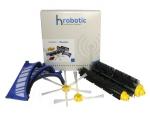 Original HRobotic LifeSet (Zubehör Set für iRobot Roomba 600 Serie) Haupt-Seitenbürste & Filter