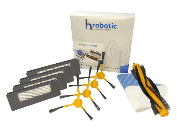 Original HRobotic LifeSet mit Hauptbürste Deebot M88