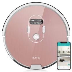ILIFE Beetles A7 (hot pink) designer Saugroboter mit App