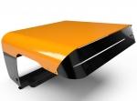 Aluminium & Edelstahl (orange) Garage für Worx Landroid
