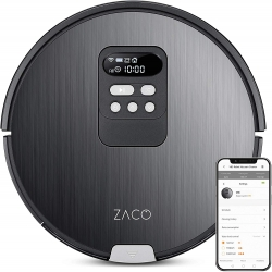 ZACO V85 systematischer Saugroboter mit Wischen, App & intelligenter Reinigung