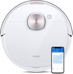 Ecovacs Deebot OZMO T8 Saug-Wischroboter mit Navigation & App