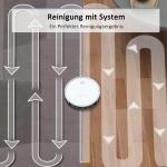 Bild 1: Tesvor X500 Pro Saug-Wischroboter mit App & systematischer Reinigung