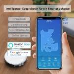 Bild 2: Tesvor X500 Pro Saug-Wischroboter mit App & systematischer Reinigung