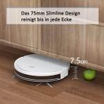 Bild 4: Tesvor X500 Pro Saug-Wischroboter mit App & systematischer Reinigung