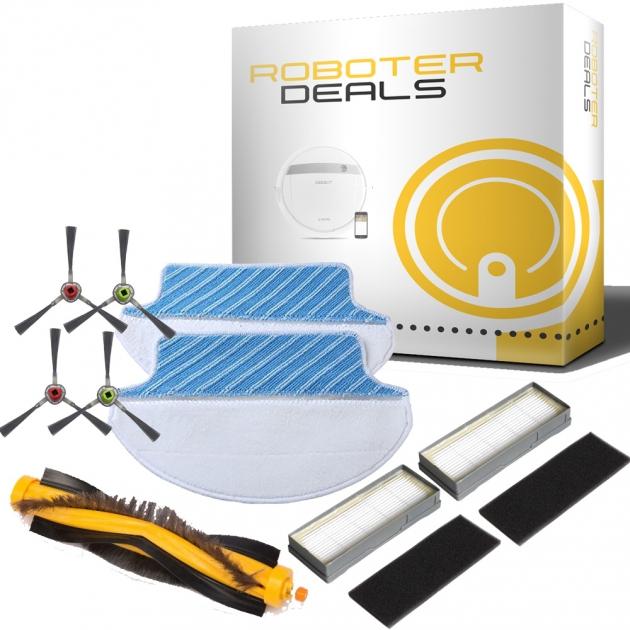 Ersatzteile Kit für Ecovacs Deebot DM85, M85 (Filter, Seitenbürste, Pad, Hauptbürste)