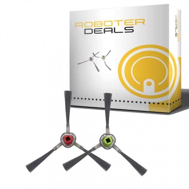 Produktbild Seitenbürsten (2 Stück) für Ecovacs Deebot OZMO 900, 901, 902, 905