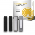 Filter mit Filterschutz (2 Stück) für Ecovacs Deebot OZMO 950 und 920