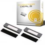 Filter mit Filterschutz (2 Stück) für Ecovacs Deebot OZMO 900, 901, 902