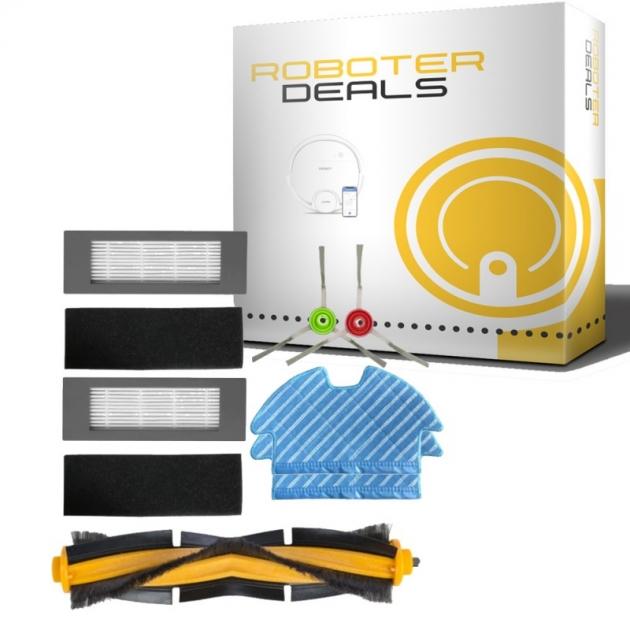 Ersatzteile Set für Deebot OZMO 900 (Filter, Seitenbürste, Pad, Hauptbürste)